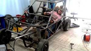 Ульяновские студенты сконструировали автомобиль